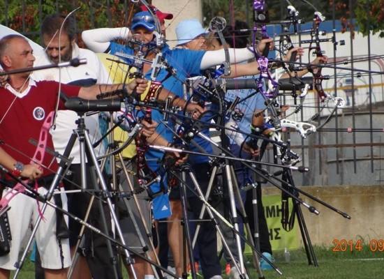 Προκήρυξη Αγώνα Α΄Αγωνιστικής Κατηγορίας Ανοιχτού Χώρου – Ατομικού, Ομαδικού Και Μικτού Ομαδικού Ολυμπιακού Γύρου Ανδρών – Γυναικών Ολυμπιακού & Σύνθετου Τόξου Τύμβεια 2014 Μαραθώνας, 24 – 26 Οκτωβρίου 2014