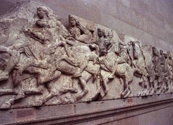 Ειρηνική διαμαρτυρία για την επιστροφή των μαρμάρων στο Μουσείο της Ακρόπολης