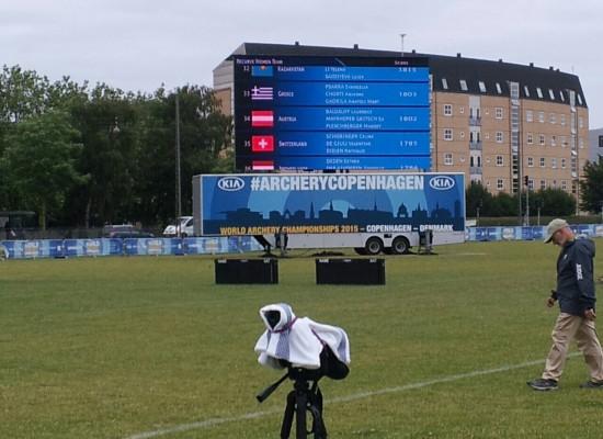 Παγκόσμιο πρωτάθλημα Τοξοβολίας ,  Κοπεγχάγη 2015
