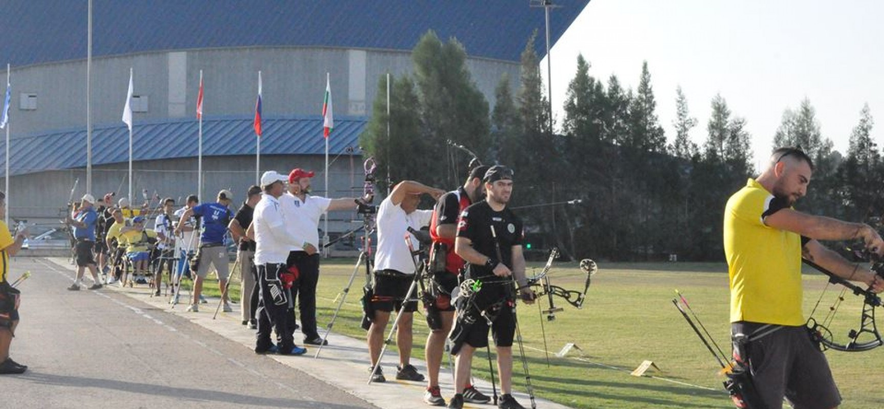 "Η ΕΘΝΙΚΗ ΜΑΣ ΟΜΑΔΑ ΣΤΟ CYPRUS INTERNATIONAL ARCHERY CUP  ""APHRODITE 2015"""