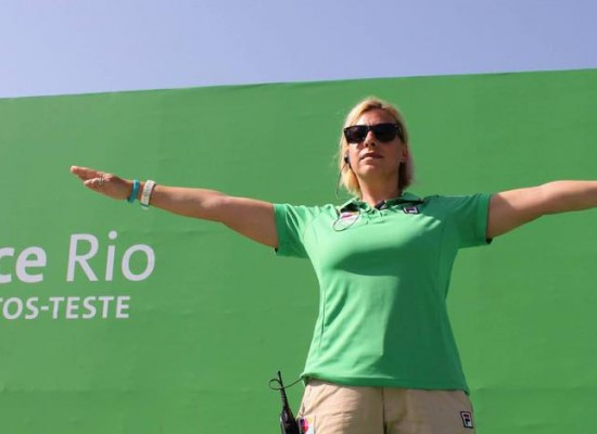 Η διεθνής κριτής Κατερίνα Πλακούδα στο Παγκόσμιο Πρωτάθλημα Κλειστού Χώρου στην Άγκυρα