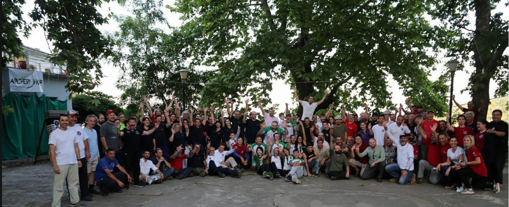 """Αποτελέσματα αγώνα Τοξοβολίας Πεδίου, """"TFG Κένταυρος 2018"""", Πήλιο, 27/5/18"""