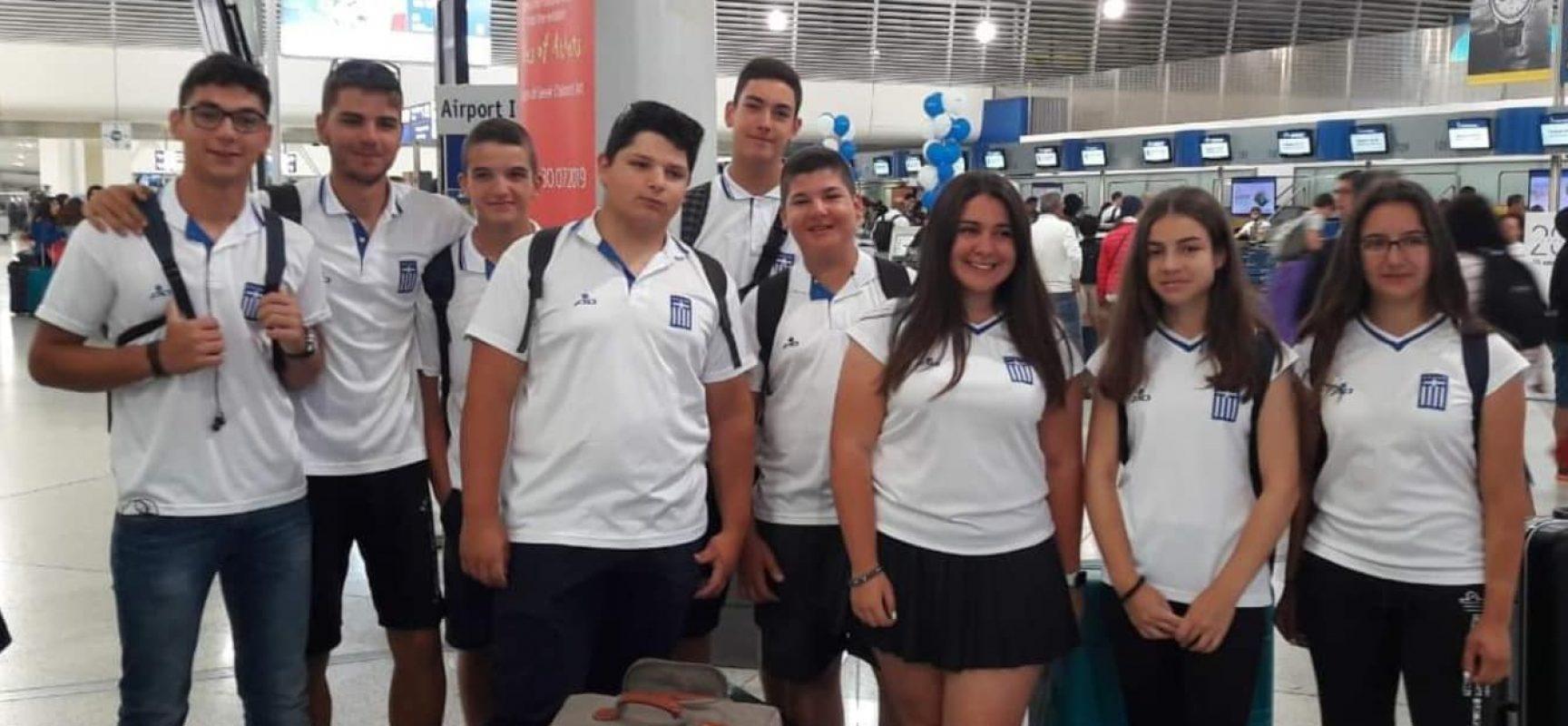 Με 12 αθλητές η Ελλάδα στο European Youth Cup