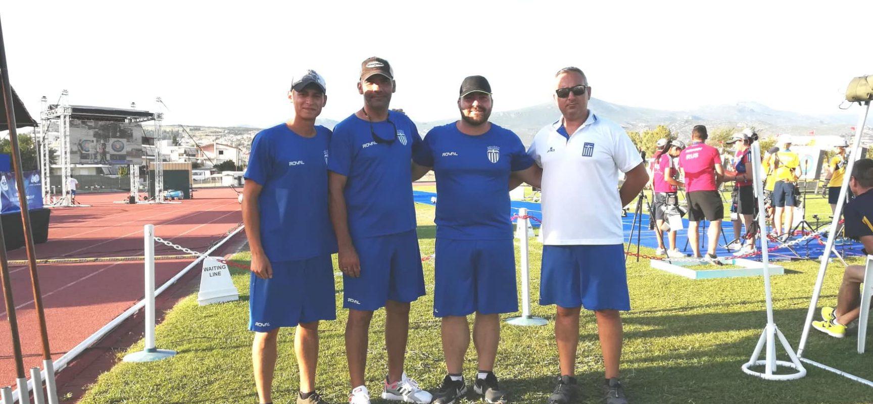 Ένα χρυσό και 4 χάλκινα για την Ελλάδα στο  Ευρωπαϊκό Στρατιωτικό Πρωτάθλημα Τοξοβολίας
