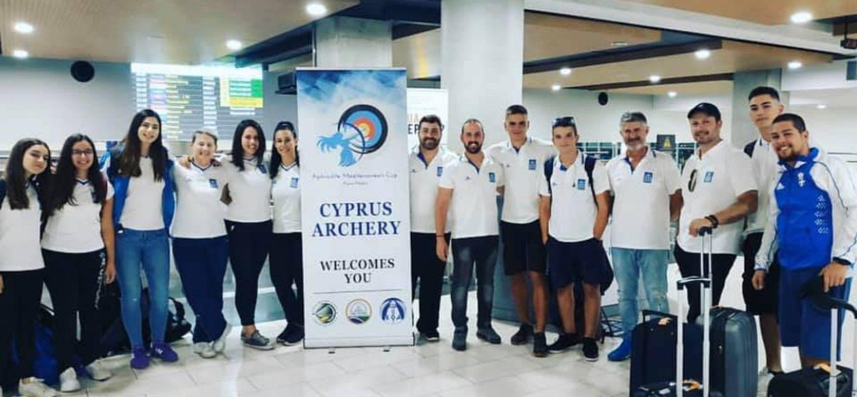 H Εθνική ομάδα στην Κύπρο για το «Aphrodite Mediterranean Cup»