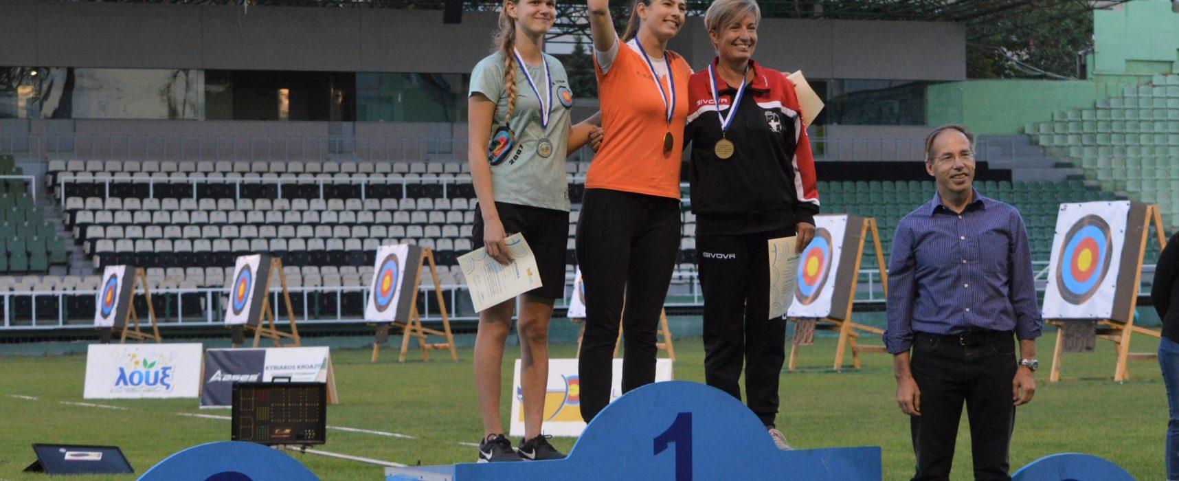 Ο Γ.Γ.Α. Γιώργος Μαυρωτάς παρακολούθησε το Πρωτάθλημα Τοξοβολίας  στο γήπεδο «Απόστολος Νικολαϊδης»