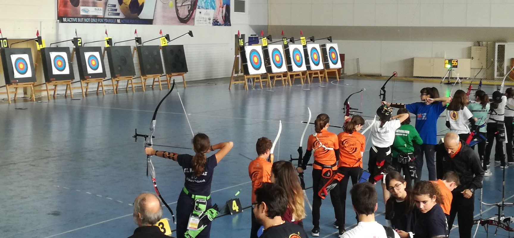 Στόχοι με τους αθλητές του αγώνα Κ.Χ. που θα διεξαχθεί την Κυριακή 9 Φεβρουαρίου στον Λαγκαδά Θεσσαλονίκης