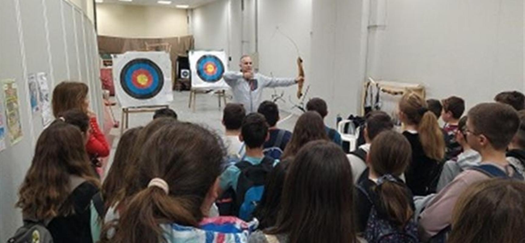 Γνωριμία με την Τοξοβολία για μαθητές σχολείων της Αχαϊας