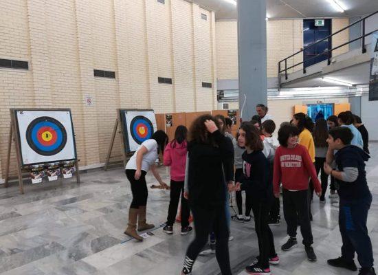 Mαθητές γνώρισαν την τοξοβολία μέσω του Be Active
