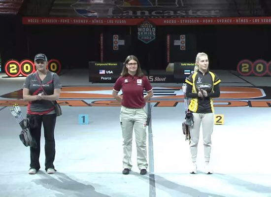 H Xριστίνα Τιφλίδου κριτής στους τελικούς του Indoor World Series