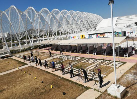 Προκήρυξη αγώνα Α.Χ Ολυμπιακού και Σύνθετου τόξου ΟΑΚΑ Ευαγγελία Ψάρρα  Σάββατο 27 Ιουνίου 2020
