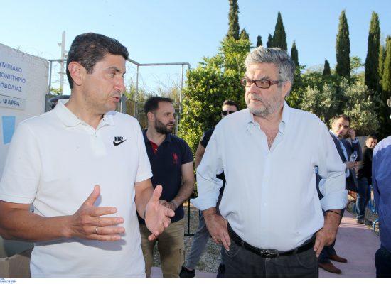 Eυχαριστήρια επιστολή του Λευτέρη Αυγενάκη στην Ελληνική Ομοσπονδία Τοξοβολίας