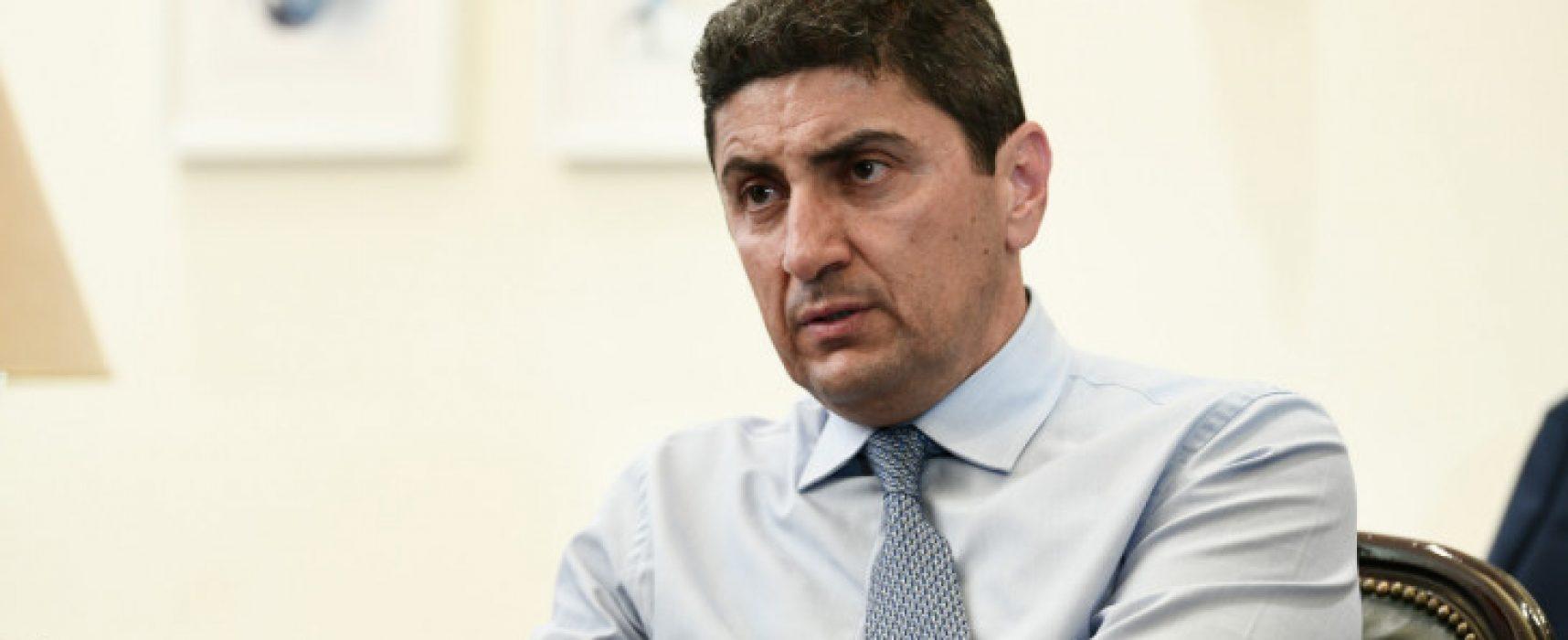 Επιστολή του Υφυπουργού Αθλητισμού Λευτέρη Αυγενάκη για τον κορωνοϊό
