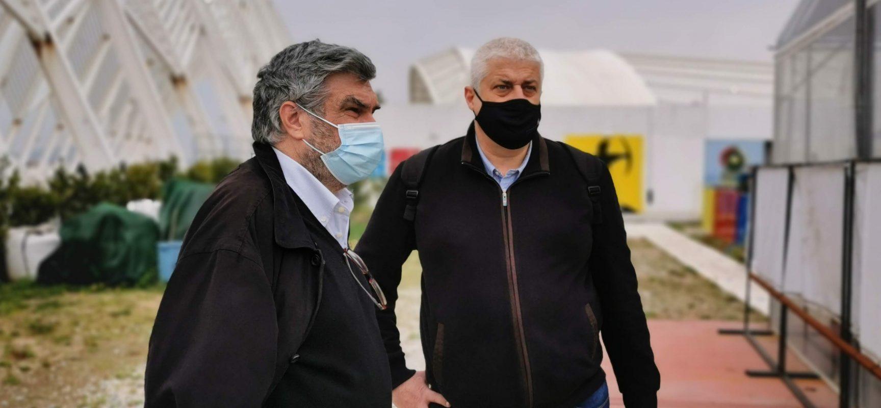 O Τάσος Χρυσανθόπουλος Πρόεδρος της ΕΟΤ, ο Πέτρος Συναδινόςεκπρόσωπος στην ΕΟΕ
